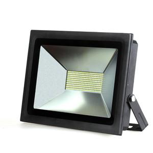 슈퍼 밝은 LED FloodLight 100W 60W 30W 15W 반사판 led 홍수 빛 스포트 라이트 110V 220V 방수 야외 벽 램프 정원 프로젝터