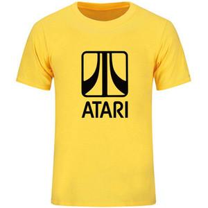 T-shirt Atari Primo abbigliamento per computer T-shirt da gioco per il tempo libero Tshirt in cotone unisex