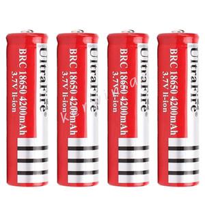 Yeni Sürüm 18650 4200 mah Şarj Edilebilir Lityum Li-Ion Pil Elektronik Sigara için LED Kamera Lazer Feneri e-çiğ
