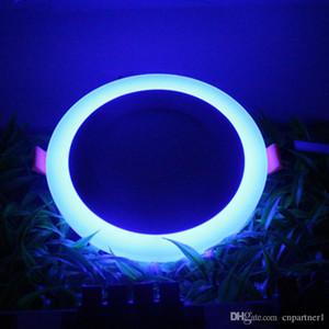 LED 6w 9w 16w led da incasso a pannello led blu bianco da incasso a soffitto SMD2835 painel lights 3 modi modificabili Lighting AC85-265V CE UL