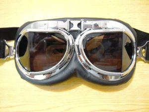 Оптовая продажа-бренд раза выпученными шлем мотоциклетный скутер мотоцикл очки безопасности выпученными бесплатная доставка