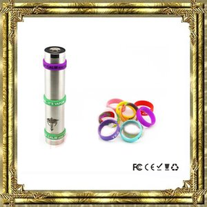 Vape Band Silicone Rings with Personality font 미국 로고 다채로운 고무 링은 RDA RTA Atomizer Mods에 적합 DHL Free