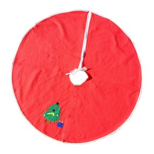 90cm Red Christmas Tree Rock mit Weihnachtsmann Schneemann Neujahr Dekorationen Weihnachten Dekoration 4 Styles