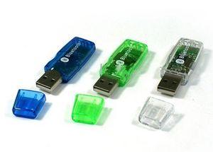 Wholesale-Transparent Mini Bluetooth USB SE388 2.0+EDR Dongle Adapter 20m PC Laptop