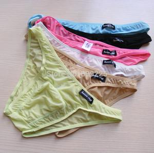 Howe Ray 6pcs underwear / sexy Breve projeto Bolsa Masculino Underware Panites B303 6 cor Lot marca dos homens