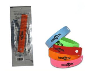 500pcs / lot Bracelets anti-moustiques à la citronnelle naturelle pure Anneau anti-moustiques anti-moustiques pour bébé