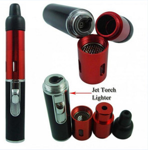 Schleichen Sie ein Vape Klicken Sie auf N Vape Mini Herbal Vaporizer Pfeife Butan Torch Flame Feuerzeug mit integriertem Wind Beweis Jet Flame Torch Feuerzeug