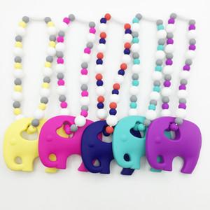 Zahnen Spielzeug Perlen - Baby Carrier Zahnen Zubehör - Nizza Elephant Beißring Spielzeug Anhänger Halsketten