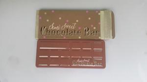 Promoción Más reciente Barra de chocolate semi dulce Sombra de ojos Colección de paletas 16 colores tamaño completo caja nueva Paletas de chocolate 100 pcs