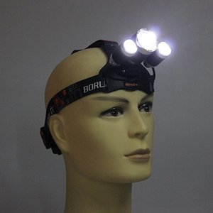 RED color light LED Headlight CREE XM-L T6 LED Headlamp Head Bike Lamp Outdoor Lights + 2*Battery + Charger + Car Charger