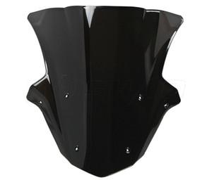 Motorrad-doppelte Blasen-Windschutzscheibe WindScreen für 2011-2014 Kawasaki Ninja ZX10R ZX 10R 11 12 13 14 2012 2013 Schwarzes