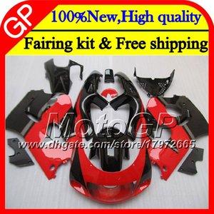 Cuerpo para SUZUKI SRAD GSXR 600 750 96 00 GSXR750 96 97 98 99 00 20GP9 Rojo negro GSX-R600 GSXR600 1996 1997 1998 1999 2000 Motocicleta
