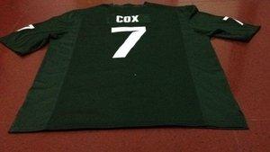 Hombres # 7 Demetrious Cox Michael Geiger Michigan State Spartans Alumni GREEN College Jersey S-4XLor personalizado cualquier nombre o número jersey