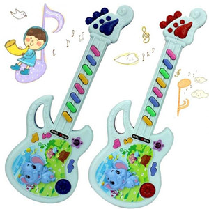 1 piece Musical Educational Toy Baby Kids Children Portable Guitar Keyboard Developmental Cute Toy