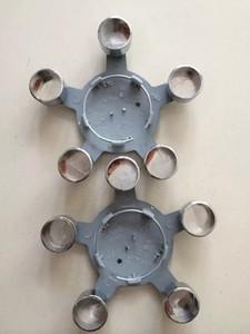 High quality 4Pcs LDiameter 135mm 5 finger Wheel Center Cap Car Emblem Rim Cap for European Vehicles A* series