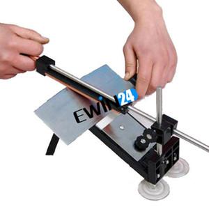 Точилка для ножей профессиональная система заточки кухни Fix-угол с камнями кухня хранения новое прибытие простой сборки хороший популярный