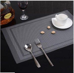 Un napperon en PVC tessforest Un gobelet, un bol, une assiette, une nappe, un tapis isolant thermique de style occidental