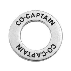 30pcs co-captain gift charm for leader