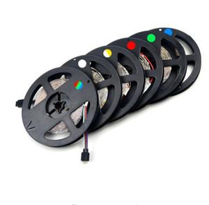 1Pack Mise à Niveau Plus Brillant Que Vieux 3528 SMD RGB Flexible LED Strip lumière 300 LEDs / 5 M Chaîne d'éclairage Décoration lampe bande