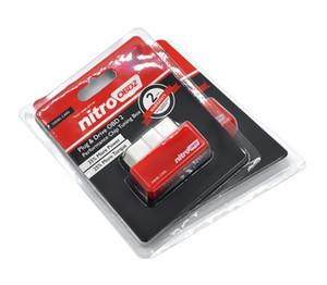 OBD2 Arayüzü Dizel Arabalar Oto Chip Tuning Nitro OBD2 Kendi Sürücü NITROOBD2 Kırmızı nitro obd2 chip tuning kutusu Ücretsiz Kargo