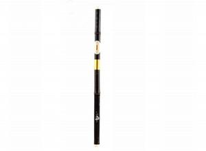 Bawu en bambou noir ton sur ton soufflé croisé, amovible, instrument de musique ba wu cool