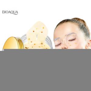 Patch Gold Circle Mask Eye Mask Osmanthus gel proteico sonno BIOAQUA Rimuovere scuro collagene siero di latte Eye Mousturizing Tbnkm