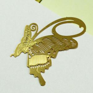 Favor de la boda Gold Bookmark Serie de primavera Multi diseños Color oro Clip de hierro Bookmark / clip de libro de metal