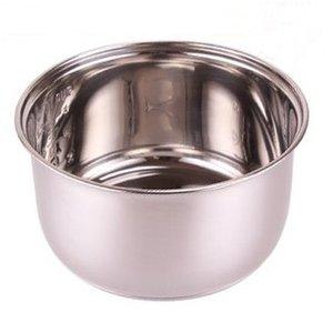 4Lrice cocina de acero inoxidable antiadherente accesorios ollas arroceras olla de cocina de dispositivos de hardware olla interior partes de barriles de hielo hardware 4L