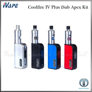 Innokin Coolfire IV Plus Kit iSub Apex Com Fogo Fresco IV Plus 3300 mah 70 W Bateria Mod 3 ml iSub Apex Tanque 100% Original