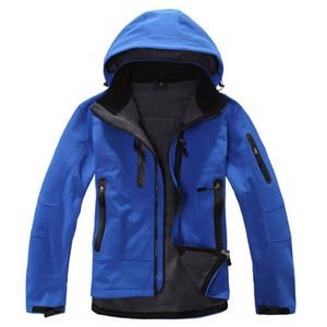 Оптово-2016 Mammoths TX Shell Водонепроницаемая термальная куртка для туризма на открытом воздухе Мужчины Softshell Альпинизм Отдых на природе Лыжные куртки