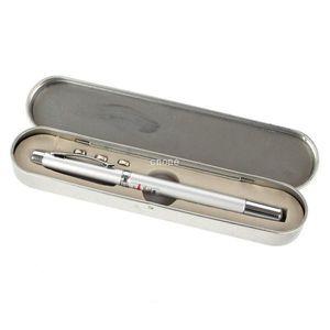 최고의 새로운 파워 포인트 텔레스코픽 RED 레이저 포인터 펜 교육 도구 + 공 펜