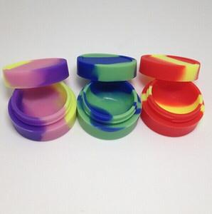 boîte réutilisable de cire de silicone, contianer de silicone de récipient de pots de silicone pour le récipient de dalle de cire pour le silicone de cire