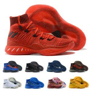 Горячая продажа 2018 Сумасшедшие Взрывчатые 2017 Обувь Уиггинс Баскетбол для высокого качества Mens спортивной подготовки кроссовки Размер 40-46 Бесплатная доставка