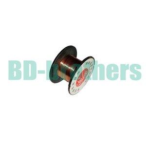 Wholesale 0.1mm Copper Soldering Solder PPA Enamelled Reel Wire Line Roll Fly line Jump Wire 10000pcs lot