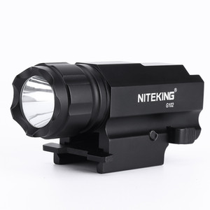 NITEKING G102 LED Tactical Gun Torcia 2 modalità 600LM Pistola Pistola Torch Light Lamp Taschenlampe