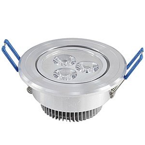 Plafoniera a LED 3x3w Dimmerabile LED da incasso a soffitto Faretto a soffitto 110v 220v Illuminazione a LED Lampada da incasso Illuminazione a soffitto con driver