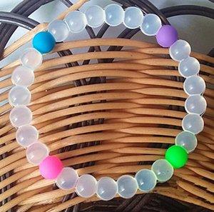 Shark Neno cordone di silicone Bracciali Power Balance Belief fascini variopinti braccialetti Power Balance Neno design di Crystal Anti Fatica Bangle
