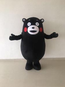 2018 Горячие продажа Кумамон костюм талисмана взрослый размер Хэллоуин Рождество День Рождения выступления медведь костюм талисмана