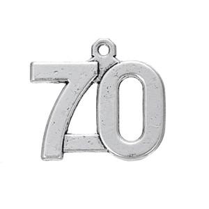 Ücretsiz kargo Yeni Moda kolay diy Vintage sayılar için 1 ila 100 charms yeni coming takı yapımı için fit kolye veya bilezik
