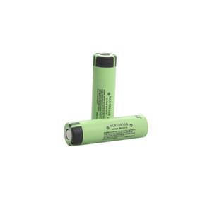 Batería cilíndrica recargable 18650 de la tapa plana desprotegida auténtica NCR18650B 3.6V 3400mAh 4.87A para la linterna