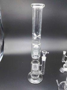 Hohe 48CM Glasrohrkäfigfilterglaswasserleitungwasserleitungglas geben Verschiffenmarkenqualität frei