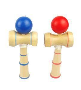 13.5 * 5.5 cm Alta Qualidade Kendama Breve Kid Kendama Coordenar Bola de Madeira Tradicional Japonês Habilidade De Jogo Educacional Brinquedo YH104