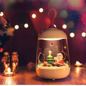 noël lumières père noël LED lumière paysage LED 3D nuit Micro lampe de nuit rechargeable tactile capteur de lumière Chambre USB Art Décor