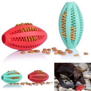 تصميم جديد الاليفة الكلب لعبة المطاط الرجبي تدريب كرة القدم لعب ل كلب القط المتعة والمتعة حمية الأسنان تدليك الكرة 1 قطع