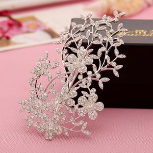 Hot Diamonds Clips da sposa Diademi Accessori per capelli da donna Sera parodia Head Pieces Clips Alloy Stunning WWL