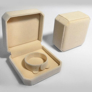 Haute Qualité 9 * 9 * Les boîtes à bijoux 4cm de Velvet bracelets emballage de bracelet Box cajas coffrets cadeaux de regalo Caixas para presente 0016PACK gros