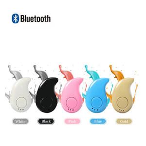 S530 Mini Wireless Pequeño auricular de Bluetooth estéreo luz invisible Auricular Auricular con el Mic Ultra-pequeño oculto con cuadro