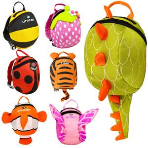 2017 sacs de maternelle sacs polyester garçons sacs à dos 3D schoolbag enfants enfants enfants enfants dessin animé école animal filles sac à dos sac à dos wotte wotte