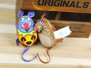 2016 nuova serie Cat Toys-Mouse miscelazione colorata giocattoli per animali in tela Cat Supplies Cat Toys spedizione gratuita