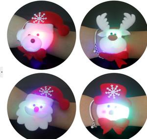 noël hallowmas haut de gamme décoration éclairée tissu art clap cercle enfant Brian cercle enfants lampe de ruban bracelets de boule décorations